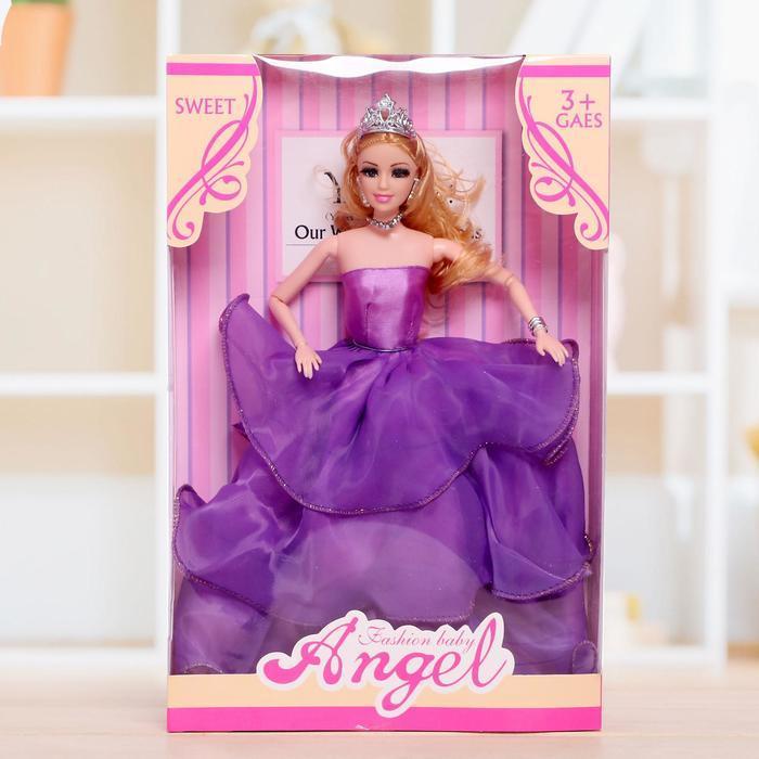 """Кукла модель """"Анна"""" шарнирная, в бальном платье, МИКС"""