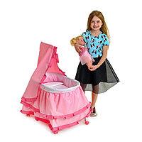 Кровать для кукол «Принцесса», металлический каркас, фото 1