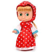 Кукла «Маша», в платье в горох, звуковые функции, 15 см