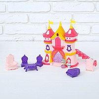 Замок для кукол, с аксессуарами, световые и звуковые эффекты, фото 1