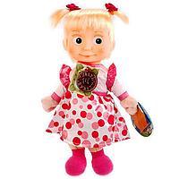 Кукла мягкая «Маша и Медведь. Маша в нарядном платье», 29 см