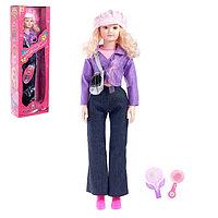 Кукла «Наташа» в костюме, со звуком, высота 96 см, аксессуары МИКС