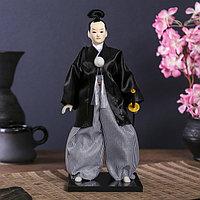 "Кукла коллекционная ""Самурай с саблей"" 30х12,5х12,5 см"