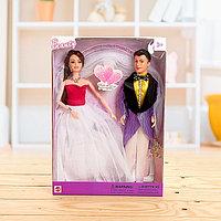 Набор кукол «Свадьба», невеста шарнирная, МИКС