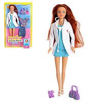 Кукла модель «Доктор» с комплектом одежды и аксессуарами, МИКС