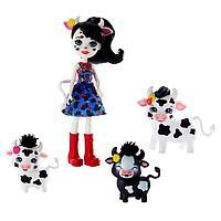 Игровой набор «Кукла Энчантималс с 3+ зверушками», МИКС
