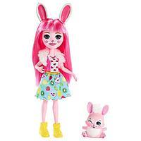 Кукла «Энчантималс» с любимым питомцем