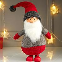 "Кукла интерьерная ""Дедушка Мороз в красном колпаке"" 45х9х17 см"