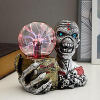 "Плазменный шар ""Мумия с ящиком"" 20х11,5х17 см"