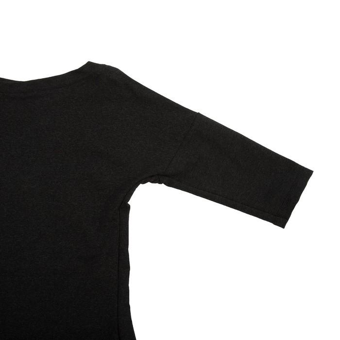 Платье женское «Комильфо», цвет антрацит, размер 42 - фото 3
