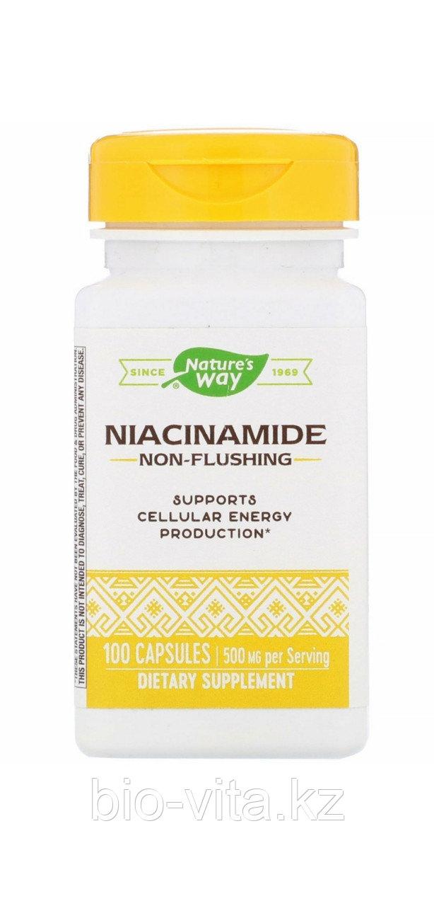 Ниацинамид, 500 мг, 100 капсул. Natures way