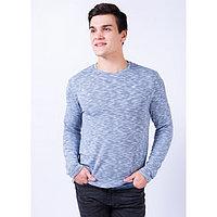 Джемпер мужской, цвет синий, размер 48
