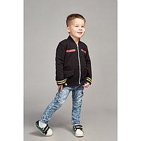 Куртка для мальчика, рост 104 см, цвет чёрный Кр-223