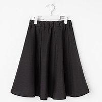 Юбка для девочки, цвет чёрный, рост 134