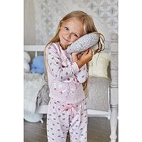 """Пижама для девочки (брюки и джемпер) """"Барашек"""", р-р 34 (122-128 см) 7-8 лет, 95% хл, 5% эл"""