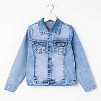 Куртка для мальчика, цвет синий, рост 116 см