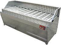 Автономный стол для шлифовальных работ, исполнение из окрашенного металла GS-1500A