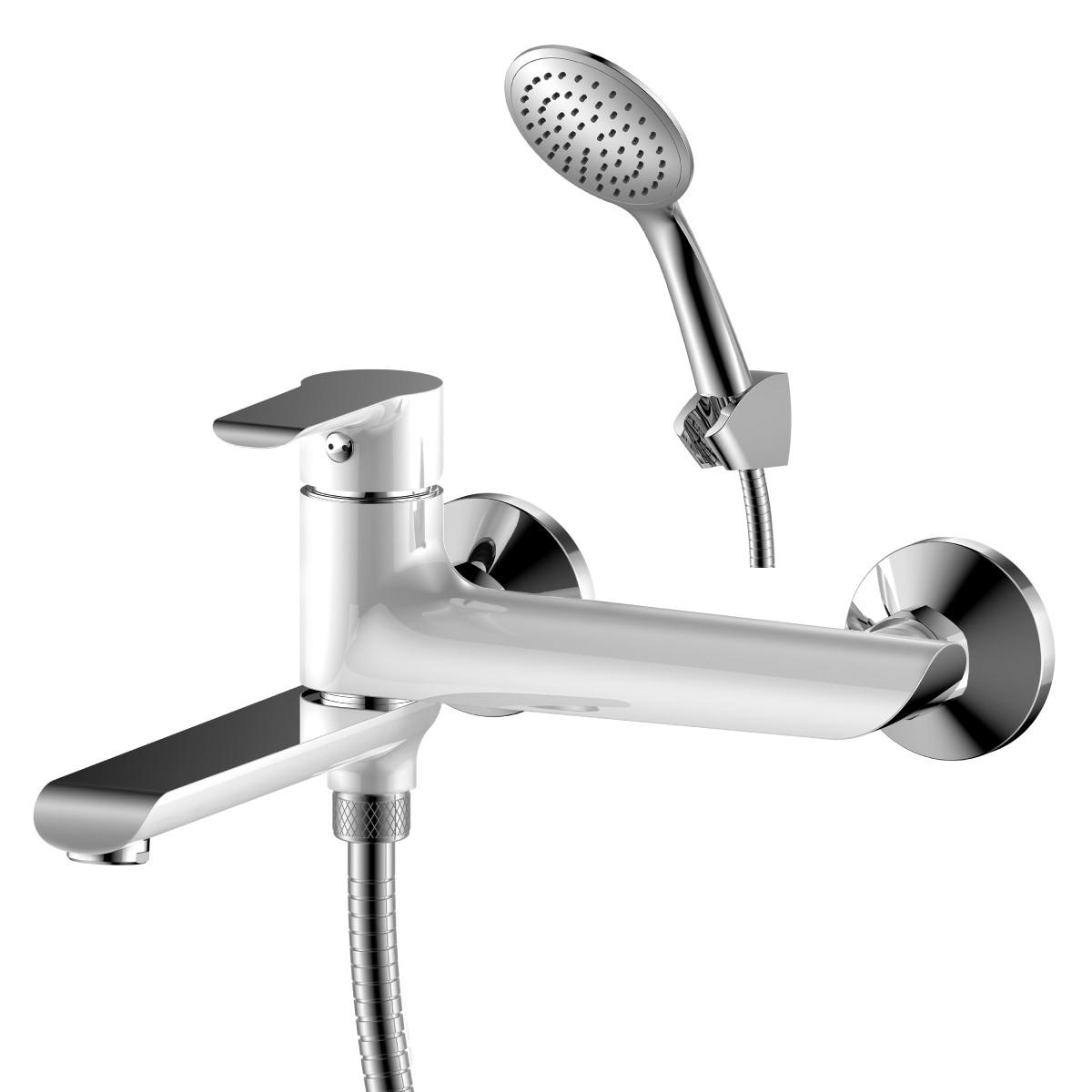 Смеситель Rossinka Sivermix W35-33 для ванны и душа