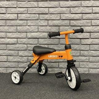 Складной трёхколёсный велосипед TINY ,,LECOCO Italy'' от 1.5 до 4 лет