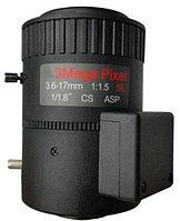 Объектив Milesight HV03617P.IR-S