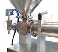 Завод АВРОРА Полуавтоматический объемно-поршневой дозатор МД-500М1 с приемной емкостью