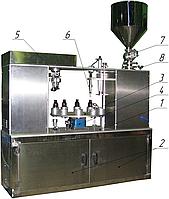 Завод АВРОРА Моноблок фасовочно-укупорочный в настольном исполнении МЗ-400ЕД