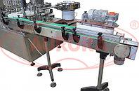 Завод АВРОРА Моноблок «Мастер» с 8-ю поршневыми дозаторами, 5 000 фл/ч для антисептических средств