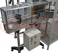 Завод АВРОРА Автомат закаточный для алюминиевых винтовых колпачков под накатку резьбы с транспортером и ориентатором МЗ-400Е2М