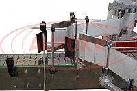 Завод АВРОРА Автоматическая этикетировочная линия для двусторонней этикетки на большую тару АЭ-5 Плюс