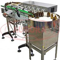 Завод АВРОРА Установка дозирующая МДП-200Л с шестью дозирующими головками и двумя накопительными столами ТДМ-600
