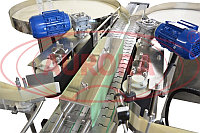 Завод АВРОРА Двухпоточная этикетировочная линия для прозрачных этикеток АЭ-5