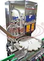 Завод АВРОРА Автомат закаточный для бутылок «мараска» и флаконов с винтовым горлом МЗ-400Е2М