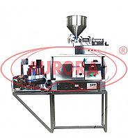 Завод АВРОРА Полуавтоматическая мини-линия розлива, укупорки и этикетировки для пластиковых и ламинатных туб