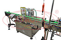 Завод АВРОРА Полуавтоматическая линия розлива антисептических препаратов МАСТЕР МЗ-400ЕД