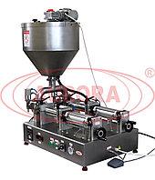 Завод АВРОРА Двухсопельный поршневой настольный дозатор МД-500М1 с мешалкой и рубашкой подогрева