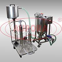 Завод АВРОРА Емкость для приготовления и хранения продукта с насосом ЕМК-Р 80 из нержавеющей стали AISI316L