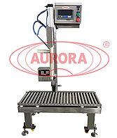 Завод АВРОРА Полуавтоматический весовой дозатор больших объемов МД-500Д1Б в специальном исполнении для особо агрессивных жидкостей
