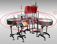Завод АВРОРА Дозирующий комплекс МДП-200Л с 8 дозирующими соплами и 2 накопительными столами