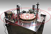 Завод АВРОРА Полуавтоматический моноблок розлива и укупорки «МАСТЕР» МЗ-400ЕД для розлива и укупорки антисептических спреев пятого поколения