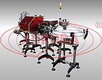 Завод АВРОРА Перистальтический двухсопельный дозатор высокой точности МДП-200Л с защитным кожухом