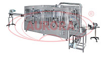 Завод АВРОРА Автоматический моноблок горячего розлива и укупорки стеклянных флаконов
