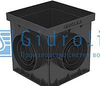 Дождеприемник Gidrolica Point ДП-30.30 - пластиковый универсальный Гидролика