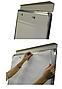 Доска- флипчарт на треножном штативе, 100х70cм, фото 2