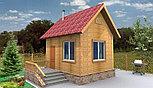 Каркасно модульный 20м2 дом из ЛСТК 5x4м, фото 2