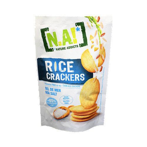 Крекеры рисовые [NA!]_Nature Addicts!, морская соль, 70 г