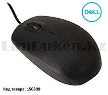 Компьютерная мышь проводная оптическая 1000 dpi USB Dell MS111 черная