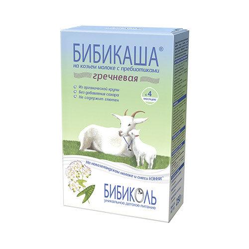 Каша гречневая БИБИКАША, на козьем молоке, 200 г