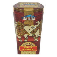 Battler черный чай Парад белых слонов PEKOE, 100 гр.