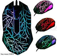 Проводная игровая мышь оптическая световая LED USB 2400 dpi Optical mouse A30