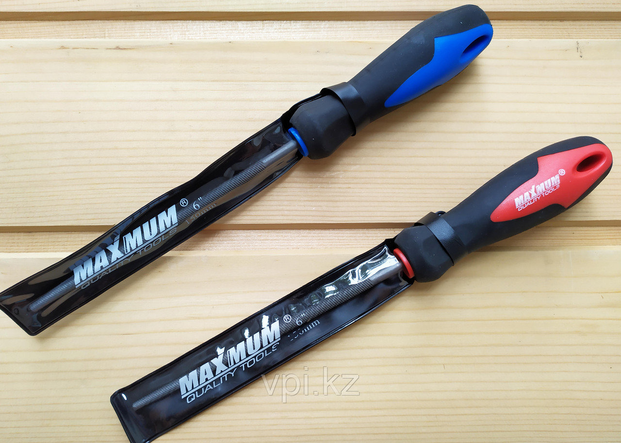 Напильник круглый с ручкой, 150мм. Maximum